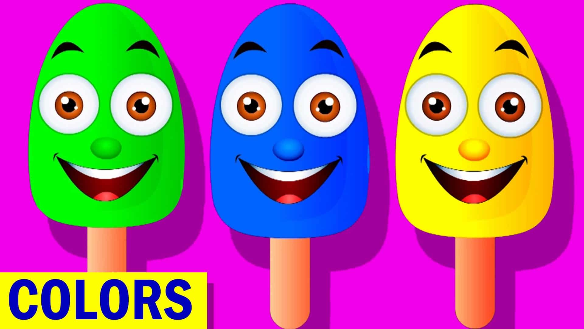 learn colors with ice cream teach colours baby children kids learning videos by baby rhymes place 4 kids - Colour For Children