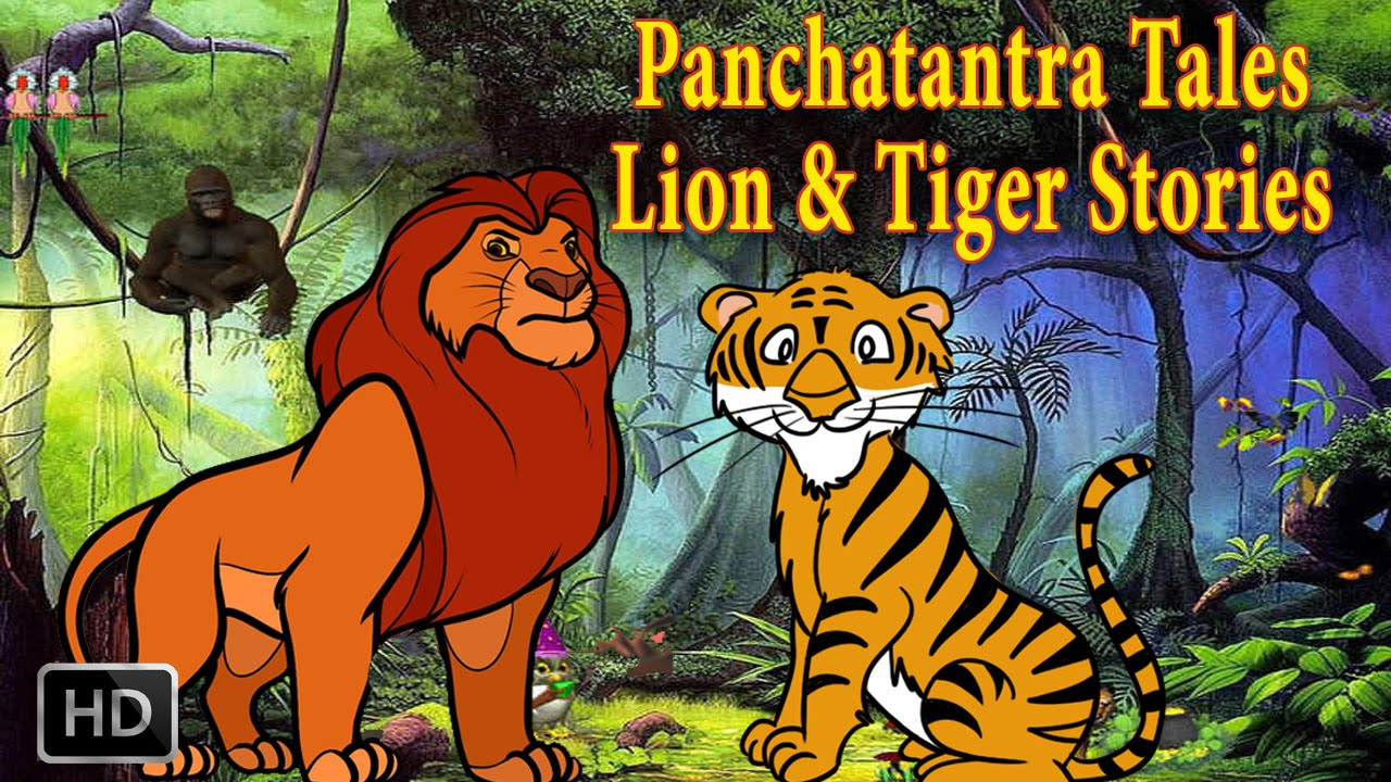 panchatantra tales lion and tiger stories animal stories kids moral stories place 4 kids. Black Bedroom Furniture Sets. Home Design Ideas