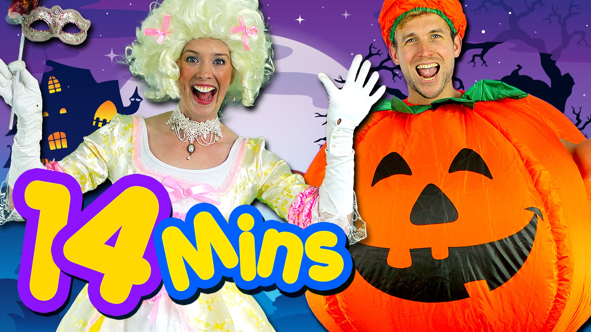 Halloween Rules and More! Kids Halloween Collection - Children's Halloween Songs - Place 4 Kids