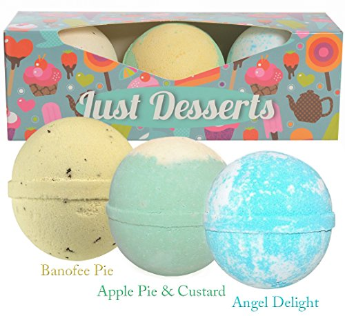 BIRTHDAY GIFT IDEA Fun Bath Bombs Lush Gift Set For Kids Includes 3 Extra Large Baseball Size Makes A Perfect Girls Boys