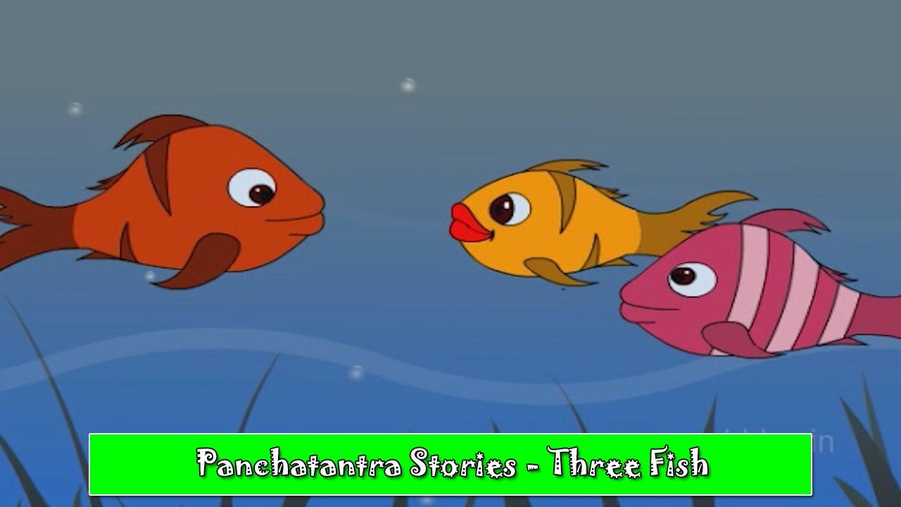 Three Fish | Bengali Panchatantra Tales | Bengali Stories