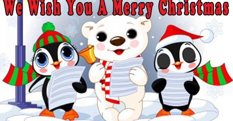 Christmas Songs For Children With Lyrics We Wish You A Merry