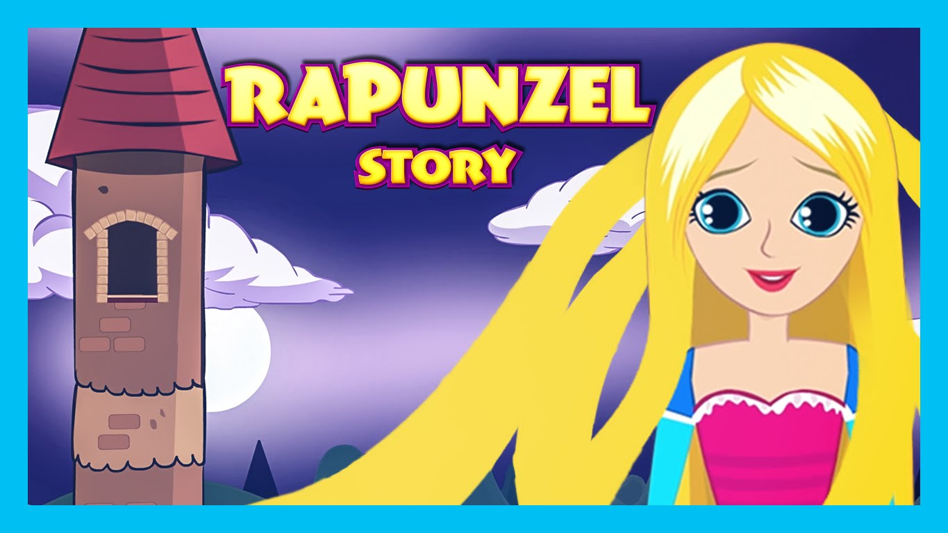 RAPUNZEL English Kids Story Animation | Fairy Tales and Bedtime