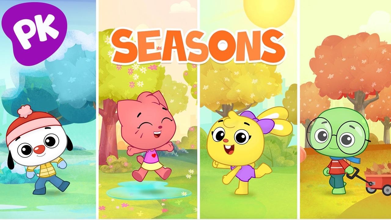 Seasons I Love To Learn Music For Kids Preschool Songs