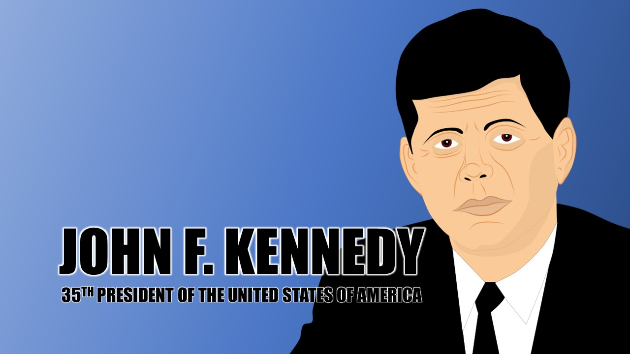 John F Kennedy Biography for Kids (Educational Videos for