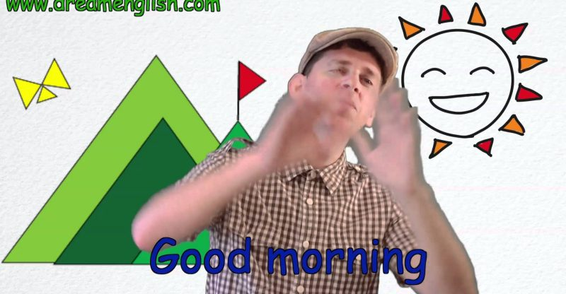 Good Morning Song For Children | Learn English Kids - Place