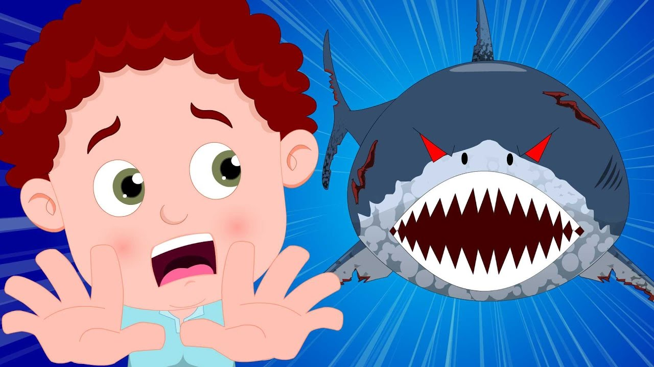 Schoolies Scary Shark Nursery Rhymes Kids Songs