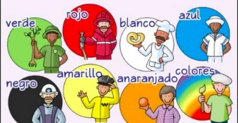 Colors, colors - ¡Colores, colores! - Calico Spanish Songs