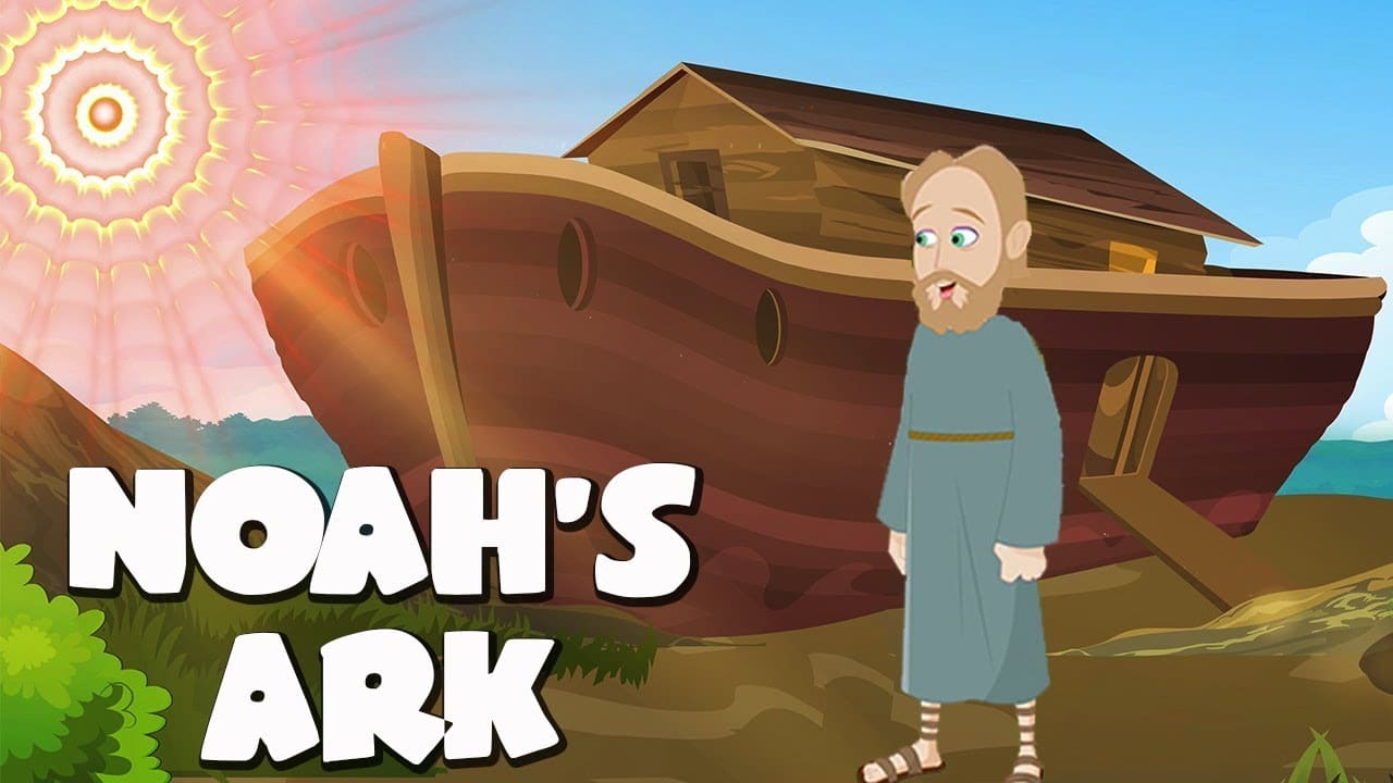 Noah's Ark Bible Story For Kids - ( Children Christian ...
