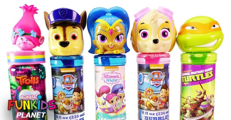 Learning Colors for Kids: Paw Patrol Chase & Skye, Poppy