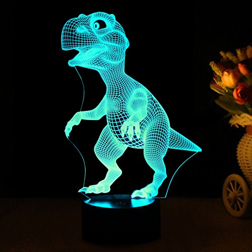 3d Night Lights For Children Kids Night Lamp Dinosaur