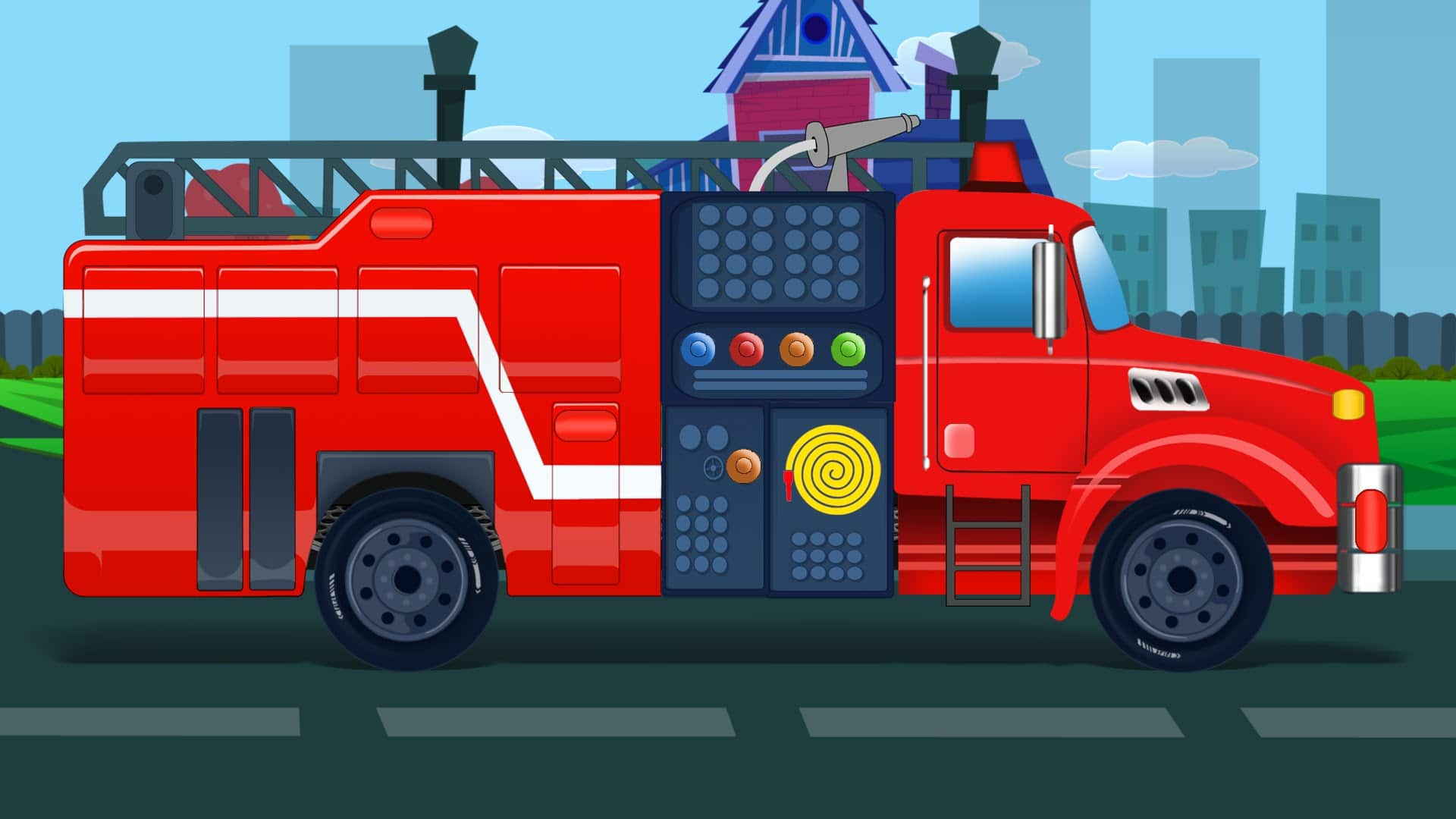 fire truck kids fire engine video for kids learn vehicles rh place4kids com