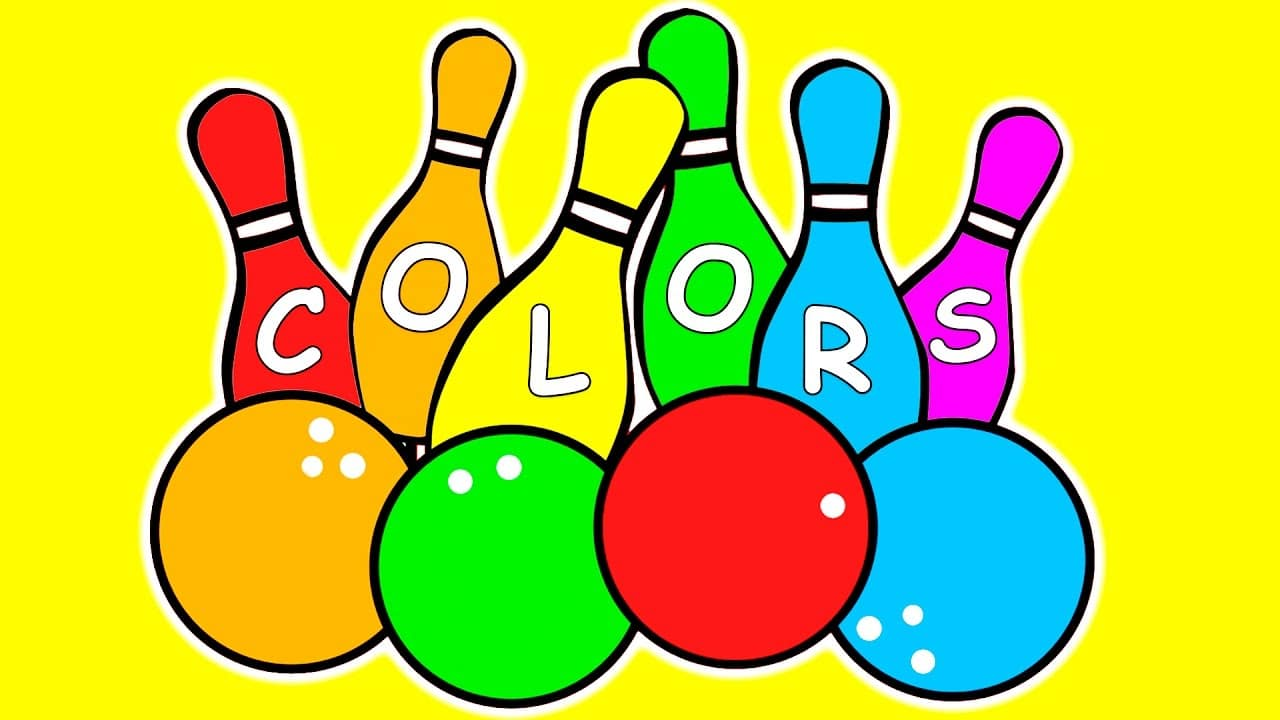Learn Colors for Children w Bowling Game | Balls for Kids | Learning ...