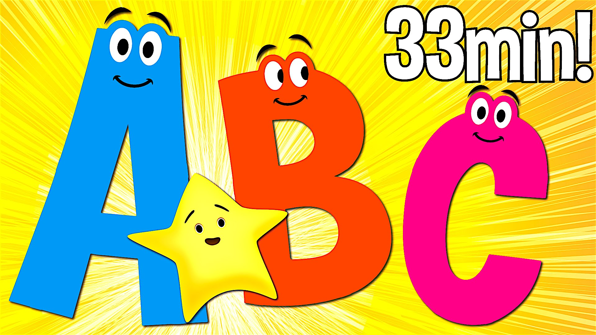 Abc Songs For Kids A To Z Uppercase Super Simple Abcs Place
