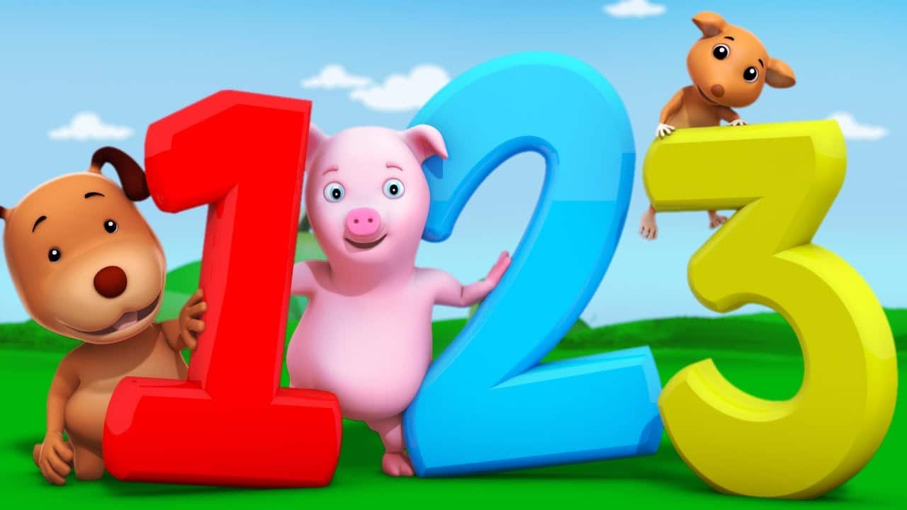Numbers Song | Counting Numbers 123 with Farmees | Learn ...