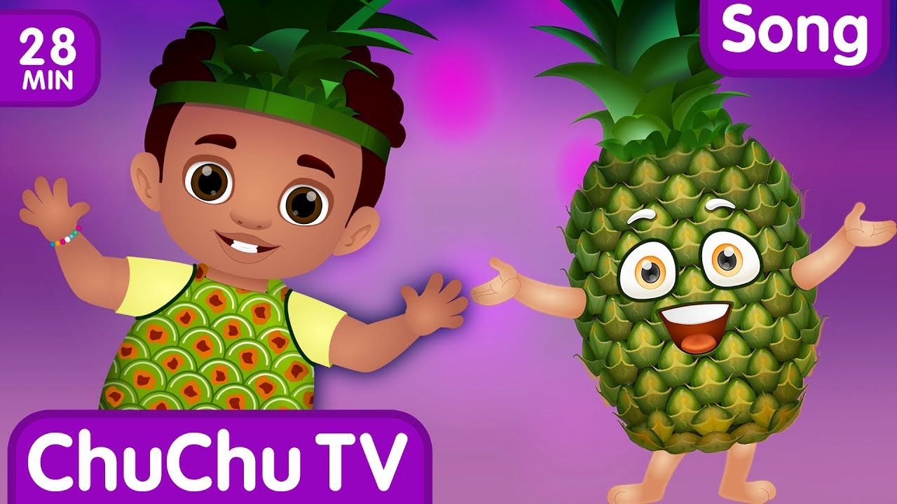 Pineapple Song | Learn Fruits for Kids and More Original