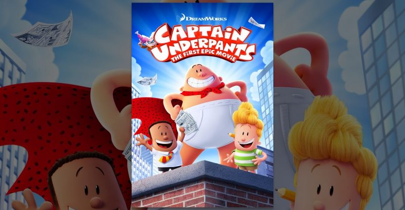 Captain Underpants The First Epic Movie Place 4 Kids