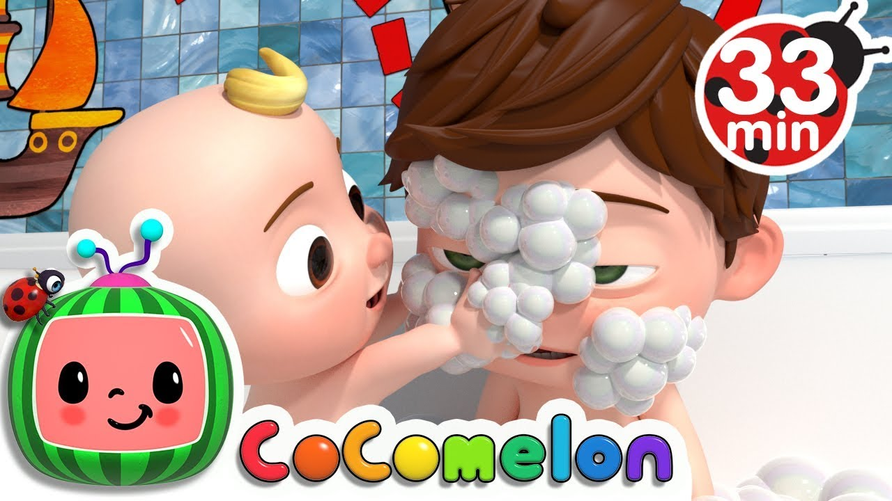 Bath Song | +More Nursery Rhymes & Kids Songs - Cocomelon ...