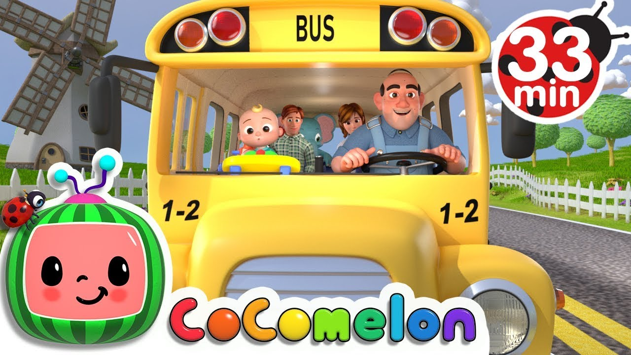 Wheels on the Bus | +More Nursery Rhymes & Kids Songs ...